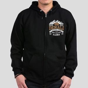 Denali Vintage Zip Hoodie (dark)