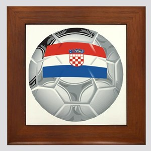 Croatia Football Framed Tile