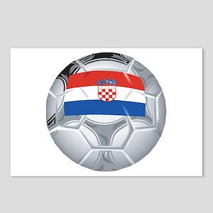Croatia Football Postcards (Package of 8)