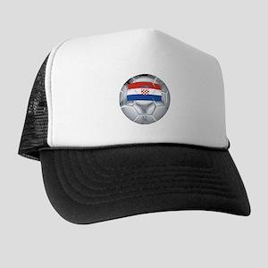 Croatia Football Trucker Hat