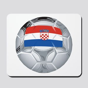 Croatia Football Mousepad