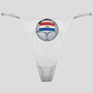 Croatia Football Classic Thong