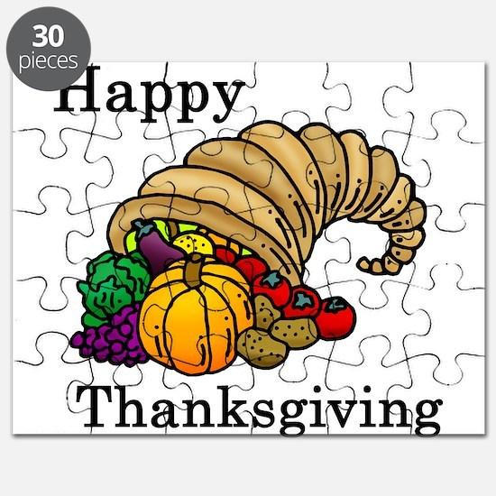 Unique Thanksgiving Puzzle