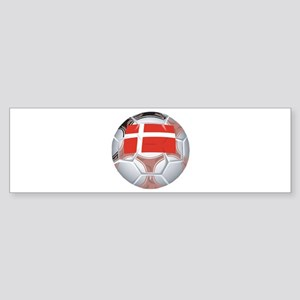 Denmark Football Bumper Sticker