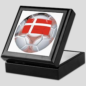Denmark Football Keepsake Box