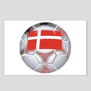 Denmark Football Postcards (Package of 8)
