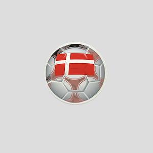 Denmark Football Mini Button