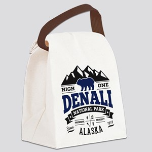 Denali Vintage Canvas Lunch Bag