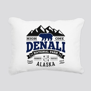 Denali Vintage Rectangular Canvas Pillow
