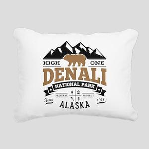 Denali Vintage Rectangular Canvas Pillow