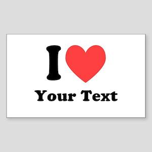 I Heart Sticker