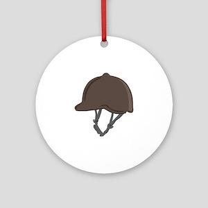 Jockey Helmet Ornament (Round)