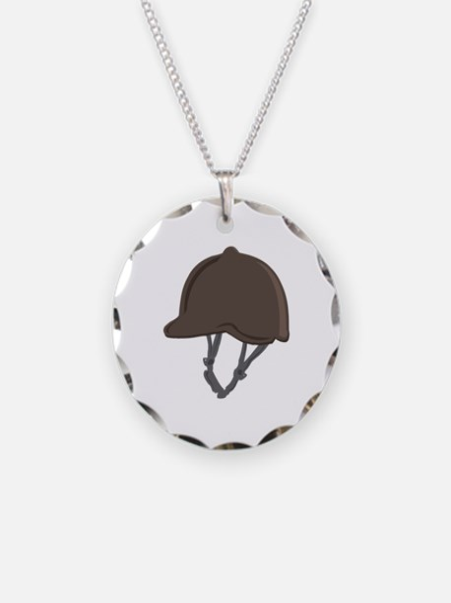 Jockey Helmet Necklace