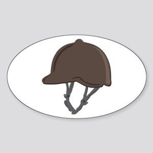 Jockey Helmet Sticker