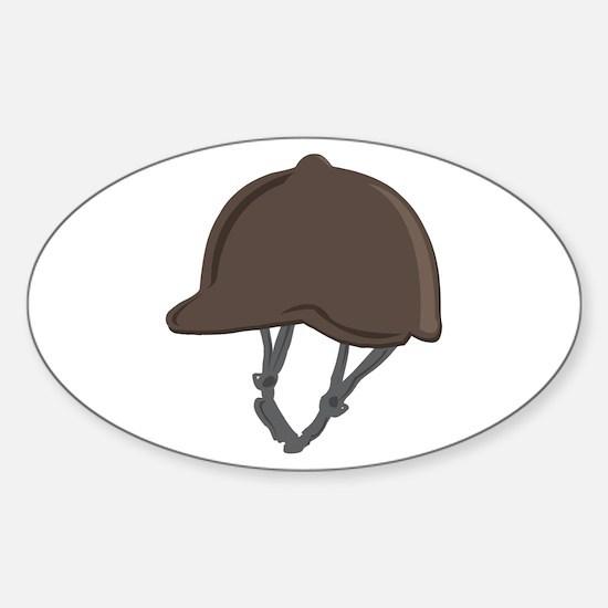 Jockey Helmet Decal