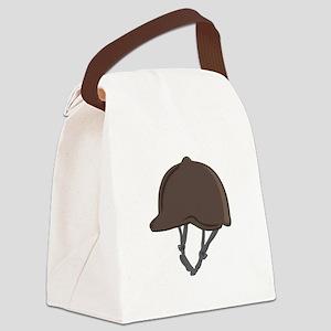 Jockey Helmet Canvas Lunch Bag