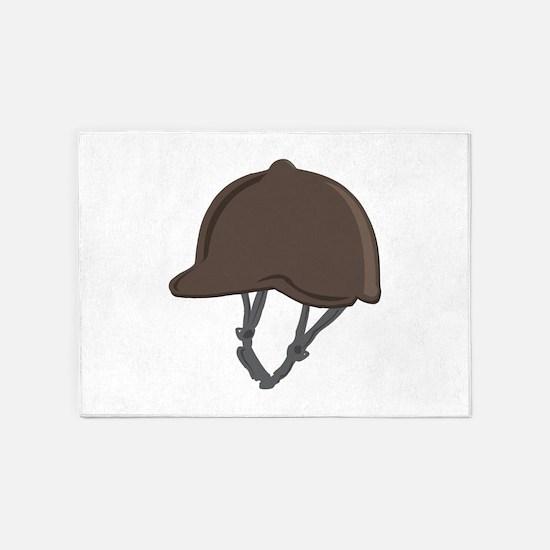 Jockey Helmet 5'x7'Area Rug