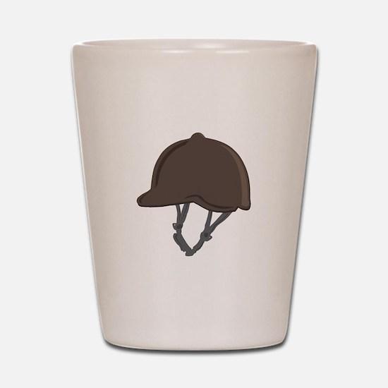 Jockey Helmet Shot Glass