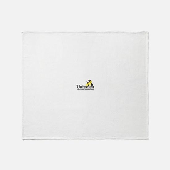 Unixmen Throw Blanket
