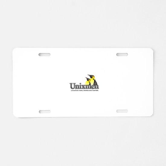 Unixmen Aluminum License Plate
