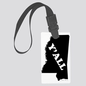 Mississippi Yall Large Luggage Tag