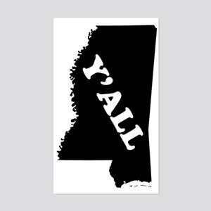 Mississippi Yall Sticker (Rectangle)