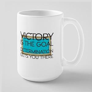 Swim Victory Large Mug