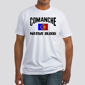 Comanche Native Blood Fitted T-Shirt