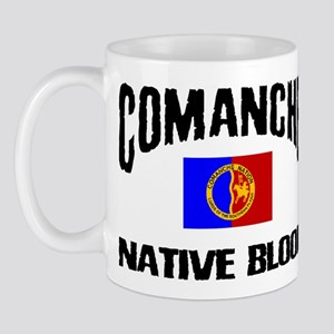 Comanche Native Blood Mug