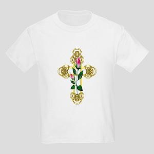 rosebud gold cross T-Shirt