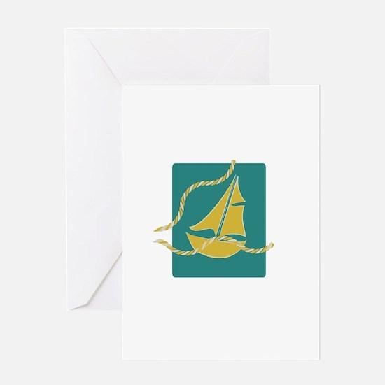 Sailboat Greeting Cards