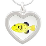 Guineafowl Puffer Yellow Necklaces