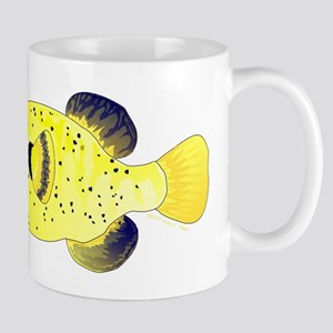 Guineafowl Puffer Yellow c Mugs