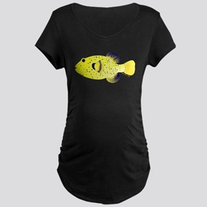 Guineafowl Puffer Yellow c Maternity T-Shirt