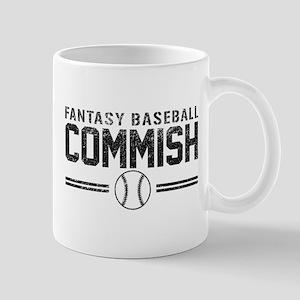 Fantasy Baseball Commish Mugs