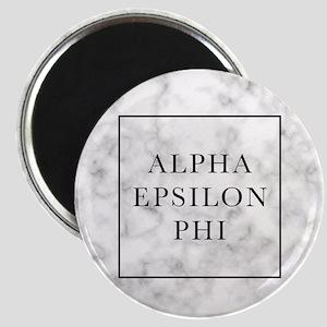 Alpha Epsilon Phi Marble Magnet