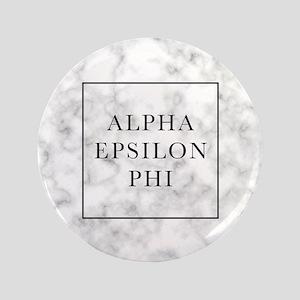 "Alpha Epsilon Phi Marble 3.5"" Button"
