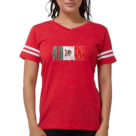 Cool Hermana Gift Mexican Shirt For Mexica T-Shirt