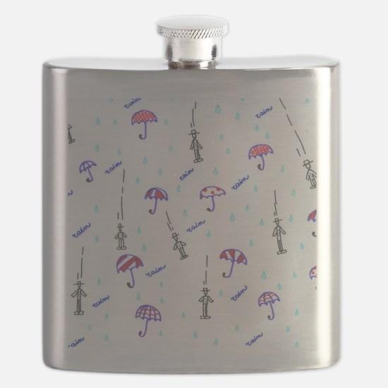 Cute Romantic mens Flask