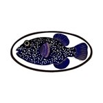 Guineafowl Puffer Black Patches