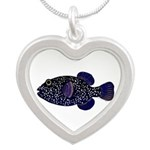 Guineafowl Puffer Black Necklaces