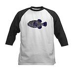 Guineafowl Puffer Black c Baseball Jersey