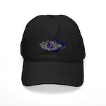 Guineafowl Puffer Black c Baseball Hat