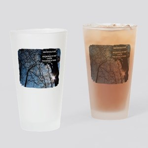 Winter Solitude Drinking Glass