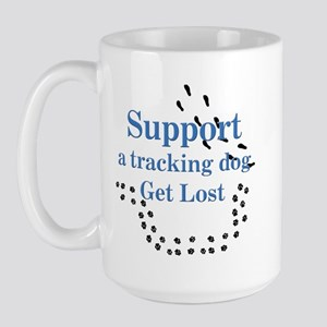 Support Tracking Large Mug