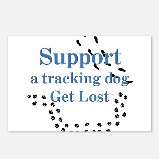 Support Tracking Postcards (Package of 8)