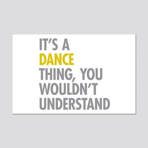 Its A Dance Thing Mini Poster Print