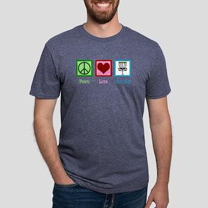 Disc Golf Mens Tri-blend T-Shirt