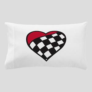 Racing Heart Pillow Case