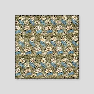 "William Morris Chrysanthemu Square Sticker 3"" x 3"""